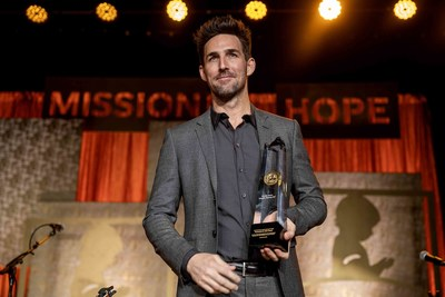 Country music artist Jake Owen is the 2019 recipient of the Randy Owen Angels Among Us Award for his continued support of St. Jude Children's Research Hospital.