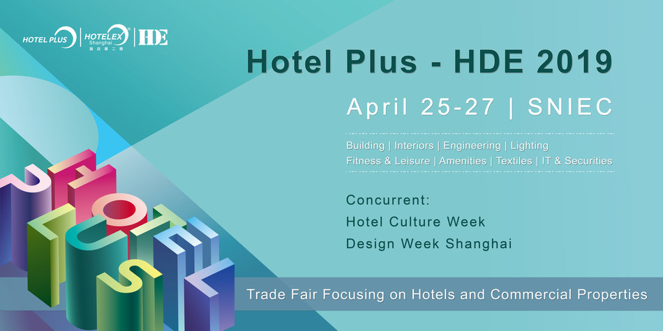 Hotel Plus - HDE is a trade fair held in Shanghai focusing on building materials and operating supplies for hotels and commercial properties.