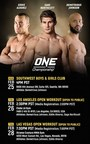 ONE Championship To Host First Ever US Media Tour To Seattle, Los Angeles and Las Vegas