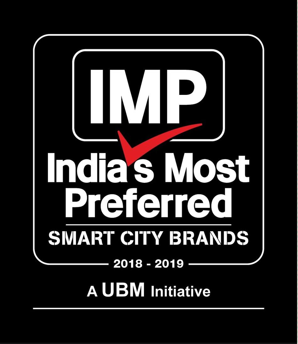 IMP Smart City Brands Logo (PRNewsfoto/UBM India Pvt. Ltd.)