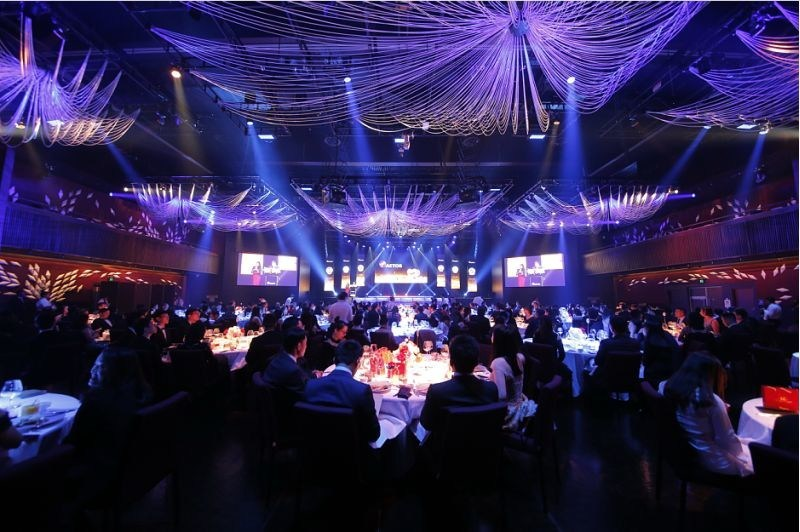Over 300 guests from all over the world attended the 12th Anniversary Gala Dinner of AETOS Capital Group, held in Sydney Australia. (PRNewsfoto/AETOS Capital Group)