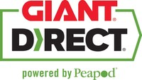 GIANT Direct, Powered by Peapod