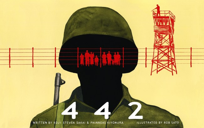 Book Cover Art: Graphic Novel '442'
