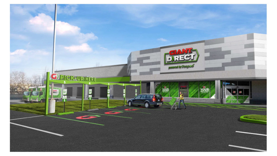 GIANT Launches GIANT DIRECT, Powered by Peapod In Lancaster