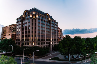 Burns & McDonnell recently moved into One Ten Franklin Building in Roanoke, Virginia, to accommodate plans to triple the size of its local team within the next three years. (Photo courtesy of Altus Group, credited to Molly Doyle, media designer)