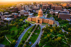Aerial view of Capitol building in Austin the Capital of Texas. (CNW Group/WESTJET, an Alberta Partnership)