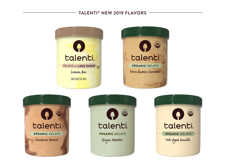 Talenti Gelato & Sorbetto Announces New 2019 Flavors
