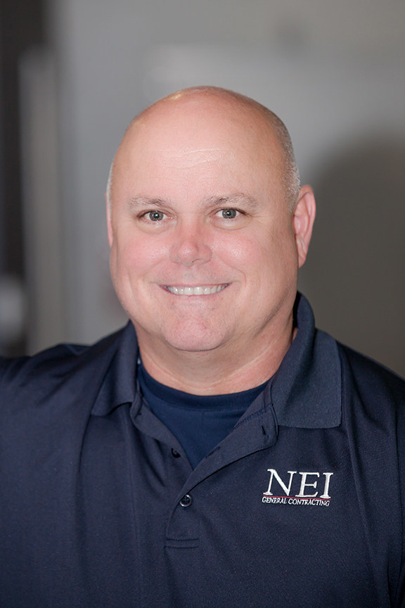 NEI General Contracting Congratulates Mike Myers on Promotion to Project Executive (photo credit: Ami Brown)