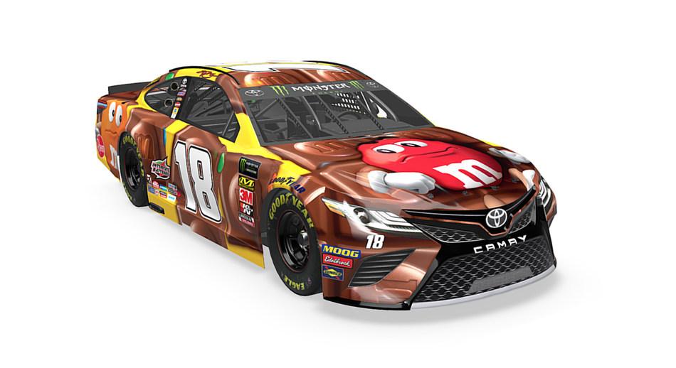 M&M'S Racing Paint Scheme Reveal