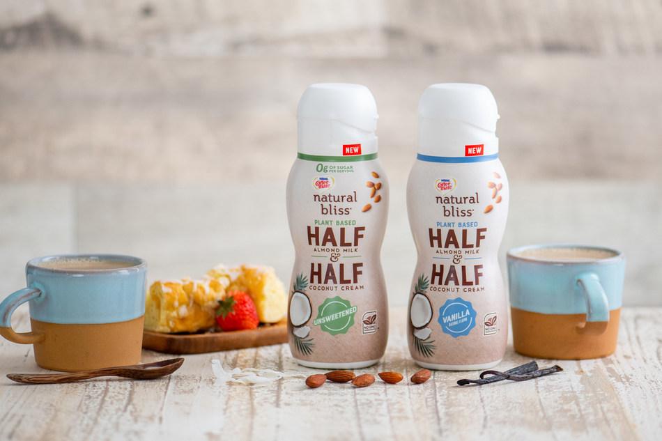 natural bliss® Half and Half Unsweetened Vanilla