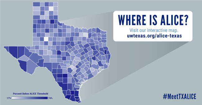 The ALICE Report provides county-by-county, town-level data and analysis of how many households are struggling.
