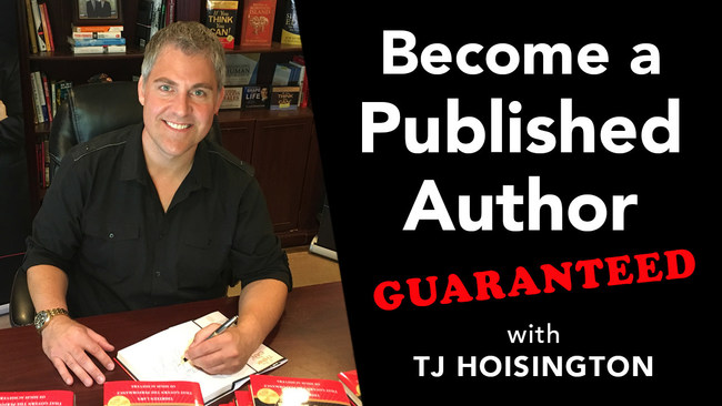 Hire Bestselling Author TJ Hoisington To Coach You On How To Become A Published Author