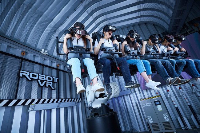 With a modularized format, Legend's indoor virtual reality theme parks can be adapted to a range of building sizes.