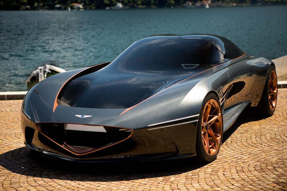 Genesis Essentia Concept, named Concept of the Year by Automobile magazine.