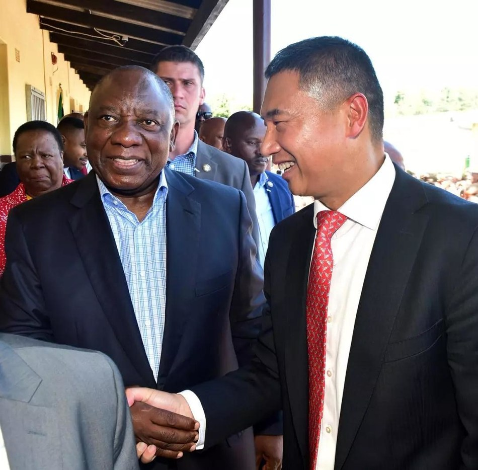 President Ramaphosa Expresses Gratitude to Aberdare Cables for Aber-school Project