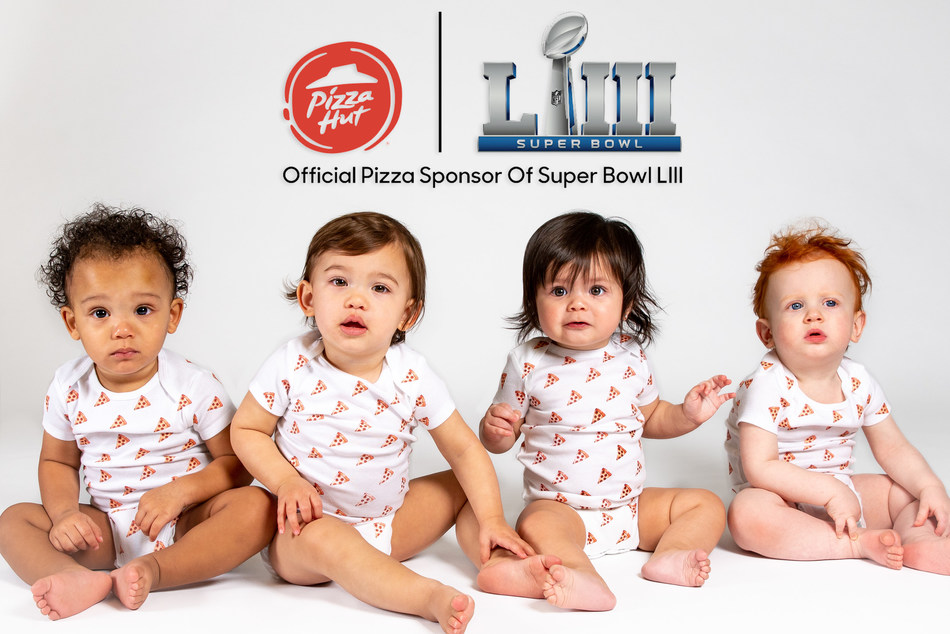 This Super Bowl Sunday, the Official Pizza Sponsor of the NFL is taking its commitment to overdeliver even further by celebrating families that are literally delivering during Super Bowl LIII – awarding the family with the first baby born during the game with free pizza for one year and a pair of tickets to Super Bowl LIV in 2020