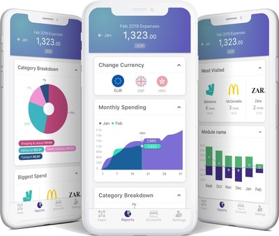 Hong Kong-based smart spending-tracker gini will be compatible with over 3,000 overseas banks in 60 countries by the second half of 2019.