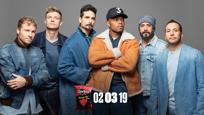 "Chance the Rapper and the Backstreet Boys remix ""I Want It That Way"" for Doritos Super Bowl LIII Commercial"