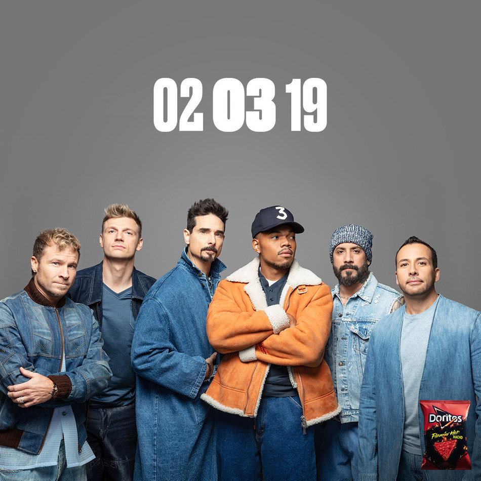 DORITOS DEBUTS SUPER BOWL COLLABORATION BETWEEN CHANCE THE RAPPER AND THE BACKSTREET BOYS
