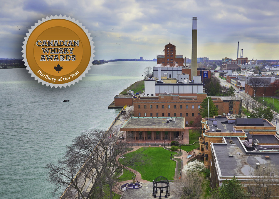 Hiram Walker & Sons once again named Distillery of the Year (CNW Group/Hiram Walker & Sons Limited)