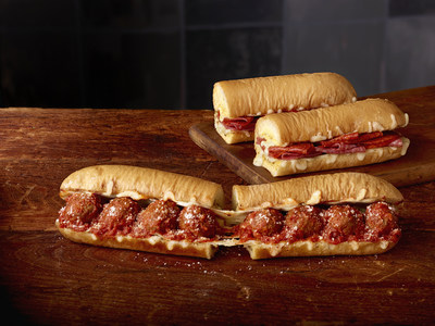 The NEW! Subway® Ultimate Cheesy Garlic Bread provides a craveable, indulgent new twist on the classic Meatball Marinara and Spicy Italian sandwiches. Available now through February 27th at participating U.S. restaurants.