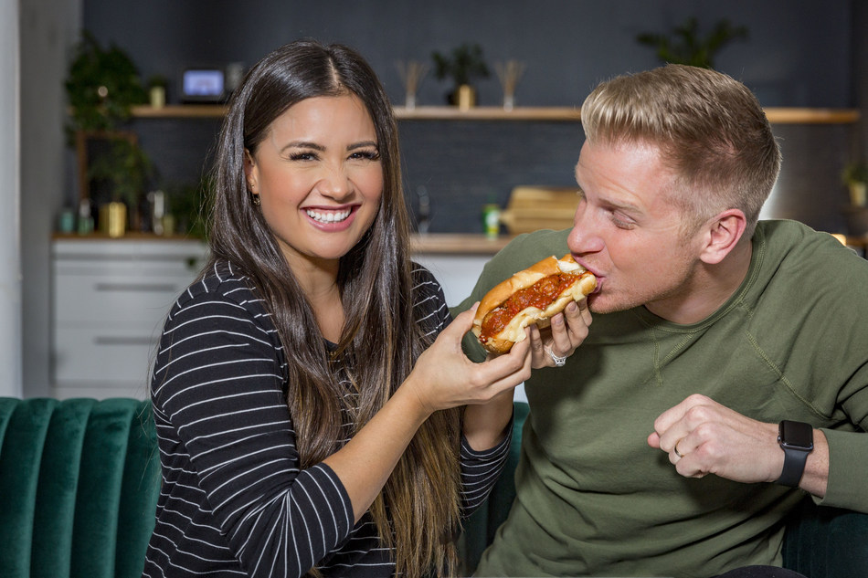 Reality stars, Sean and Catherine Lowe love the NEW! Subway® Ultimate Meatball Marinara (pictured) and Spicy Italian sandwiches.