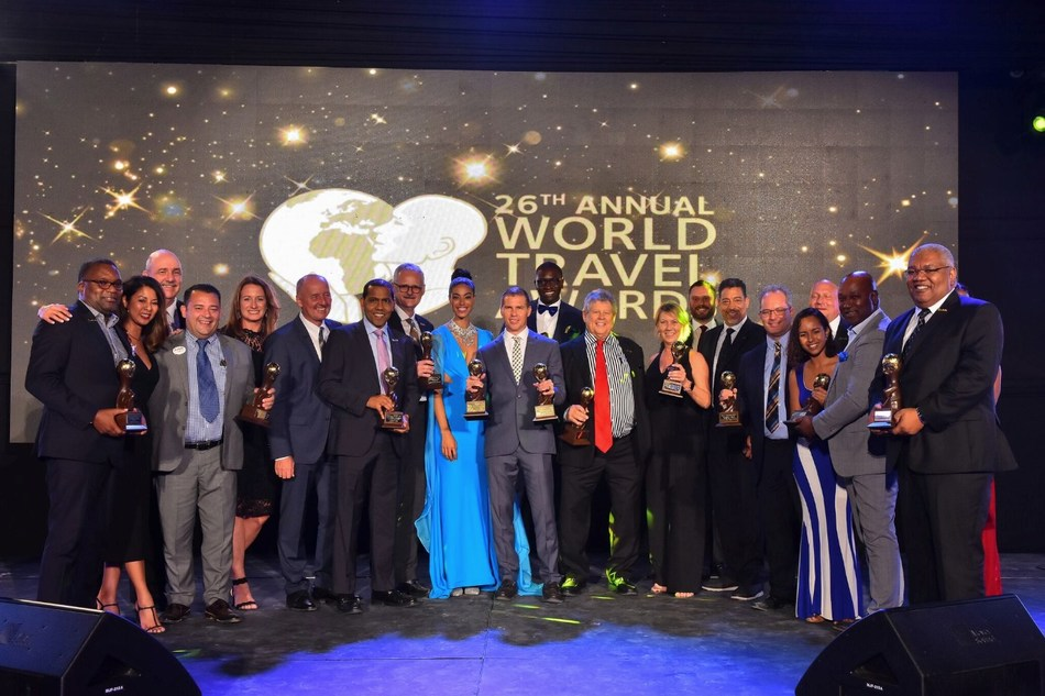 The Stewart Family honored with Outstanding Leadership in Social Responsibility Award at 2019 World Travel Awards
