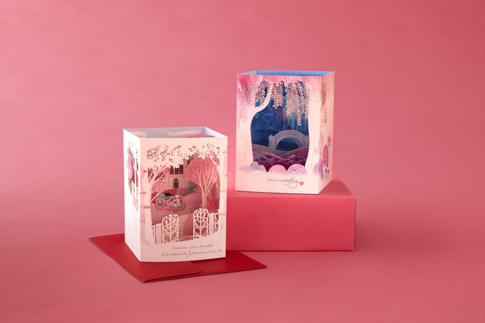 Hallmark Paper Wonder Valentine's Day Cards.
