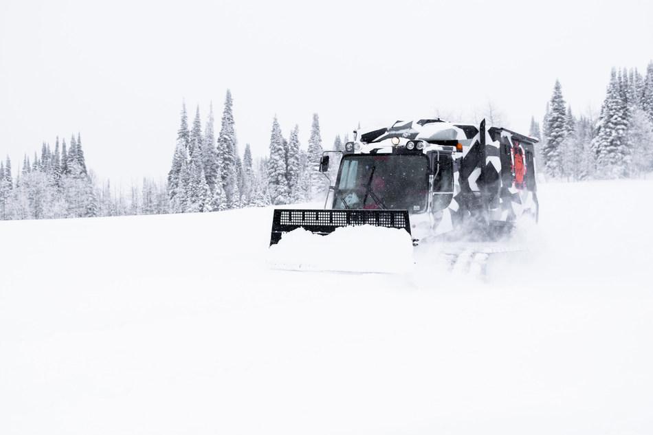 Whisper Ridge snowcat sponsored by Black Diamond Equipment.