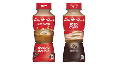 Tim Hortons is expanding its ready-to-drink offerings with new Iced Coffee flavours, including Double Double™  and regular Flavours, as well as a variety of relaunched Iced Capp® flavours, including Original, Vanilla and Mocha. (CNW Group/Tim Hortons)
