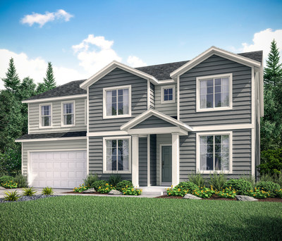 The Yosemite offers 4-8 bedrooms, 2.5-3.5 baths with 3,394 sq. ft. and 3-4 garages included.