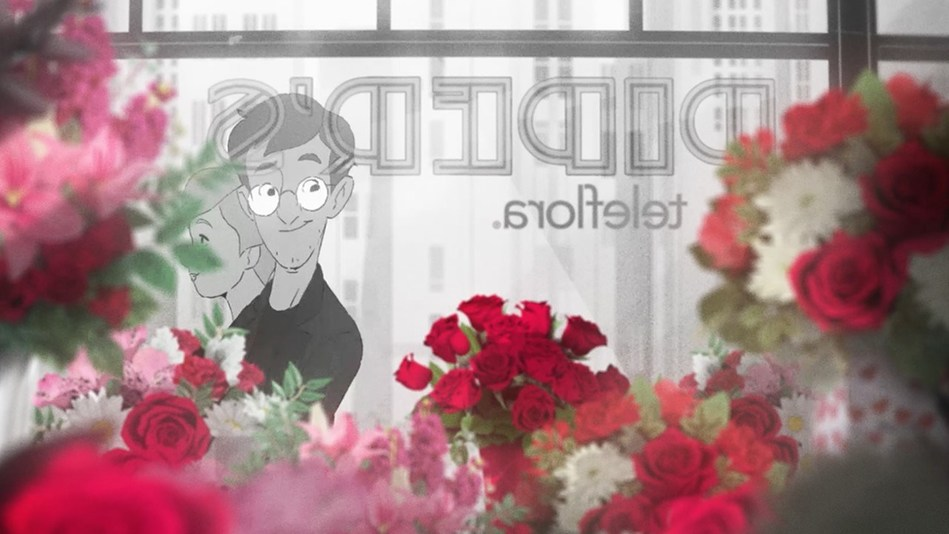 """Teleflora releases its first-ever animated short film """"Love Out Loud, A Silent Film,"""" which explores finding true love and the essential role flowers play in that emotional journey."""