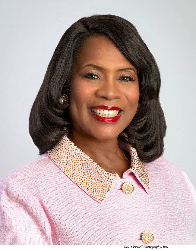 "Dr. Glenda Glover is the 30th International President of Alpha Kappa Alpha Sorority, Incorporated®. Dr. Glover took the helm of the nation's oldest Greek-letter organization established by African-American college women in 2018. She leads the prestigious organization for four years, 2018-2022, under the theme: ""Exemplifying Excellence Through Sustainable Service."""