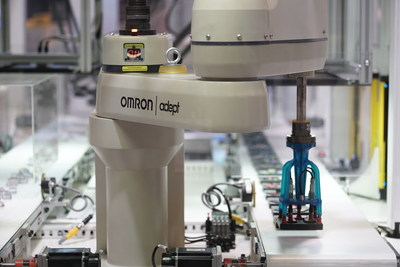 OMRON will bring its new, interactive Factory Harmony exhibit to ATX West in Anaheim. The exhibit demonstrates the manufacturing floor of the near-future, with machines that work to understand and help humans.