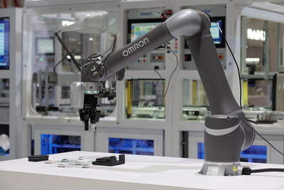 OMRON collaborative robots serve manufacturers seeking to boost production and reduce employee fatigue by automating repetitive tasks.