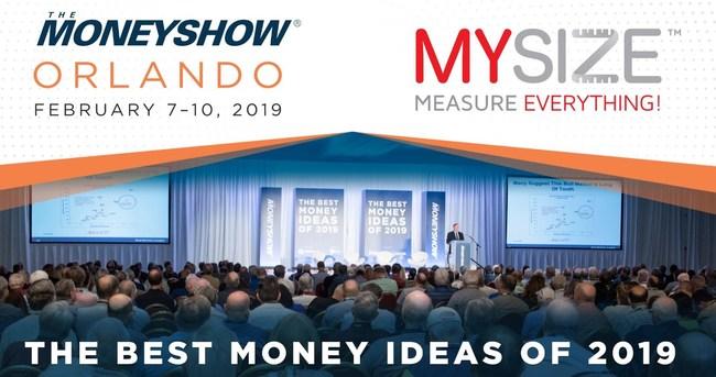 MySize will showcase its innovative smartphone measurement technologies at The MoneyShow Orlando