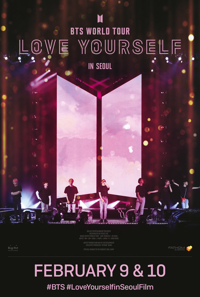BTS WORLD TOUR LOVE YOURSELF IN SEOUL' One Day Screening