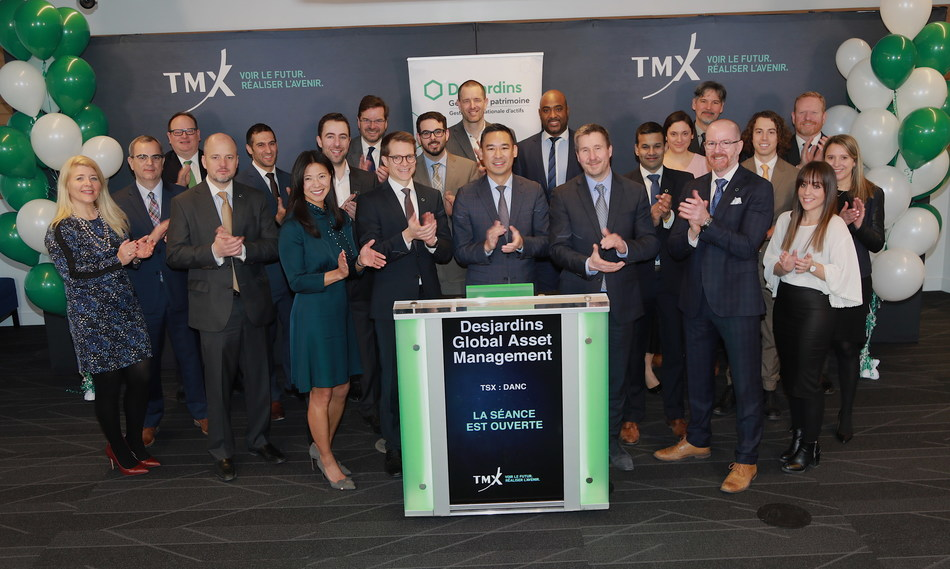 Desjardins Global Asset Management Inc. Opens the Market (CNW Group/TMX Group Limited)