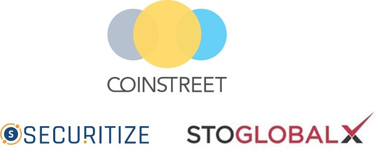 SECURITIZE, STO-GLOBAL-X and COINSTREET.PARTNERS
