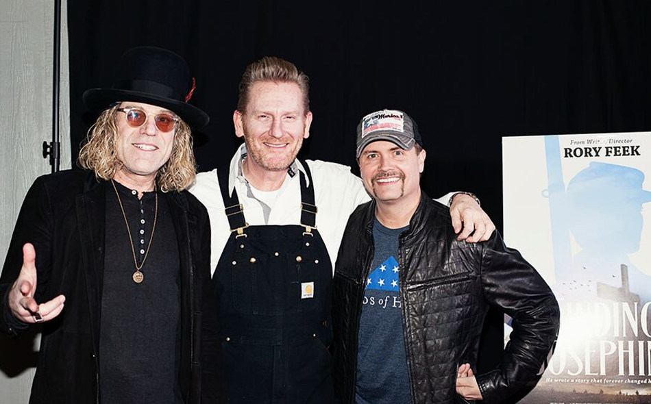 Big Kenny, Rory Feek and John Rich at Finding Josephine premiere. Photo by Miche Lucas.