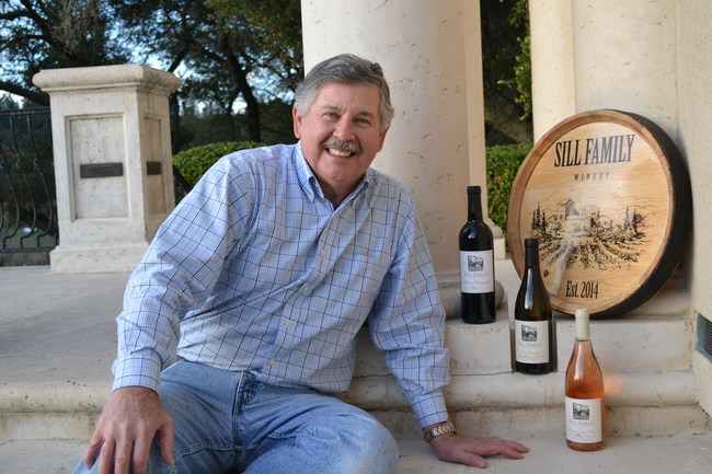 Sill with Gold Medal award wines