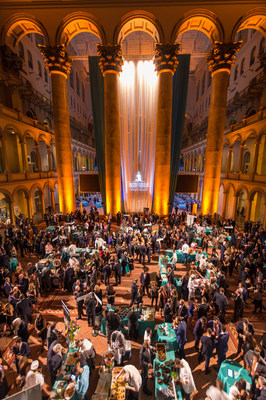 Pictured is the 2018 St. Jude Gourmet Gala at the National Building Museum in Washington, D.C. The annual tasting event benefits St. Jude Children's Research Hospital and helps ensure families never receive a bill from St. Jude for treatment, travel, housing or food - because all a family should worry about is helping their child live.