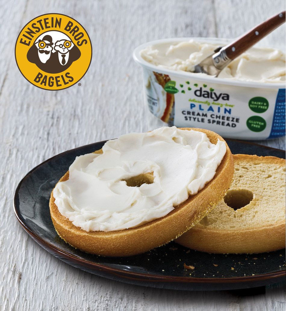 Einstein Bros. Bagels increases dairy-free and vegan-friendly menu options, some offered for a limited time in a nationwide test