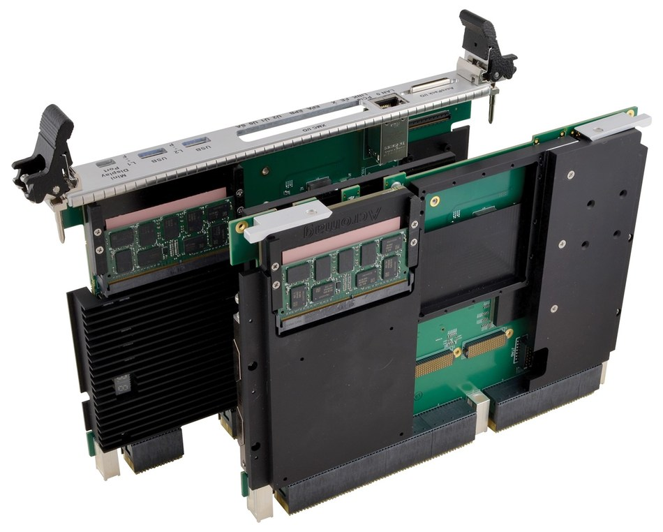 Acromag's new AcroExpress® VPX6860 6U OpenVPXTM single board computer.