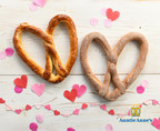 Give Love this Valentine's Day with Auntie Anne's Buy One, Get One Heart-Shaped Pretzels