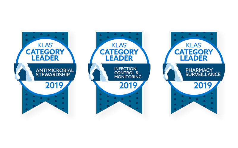 VigiLanz has earned 2019 Category Leader designations from KLAS Research for Antimicrobial Stewardship, Infection Control and Monitoring, and Pharmacy Surveillance. This is the second year VigiLanz has earned the No. 1 distinction for multiple categories.