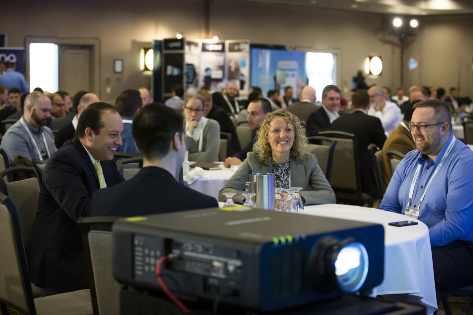 More than 260 participants at the 2019 O&M Summit seized the opportunity to get the latest on new technologies, innovations and services in Canada's rapidly-evolving wind energy sector. (CNW Group/Canadian Wind Energy Association)