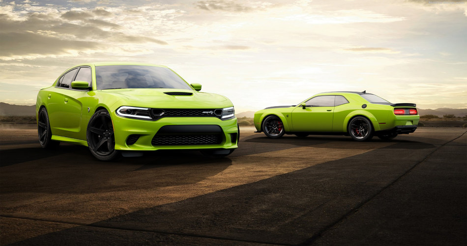How Sublime: Heritage-inspired high-impact green is back for the 2019 Dodge Challenger and Dodge Charger. Dodge//SRT continues to answer enthusiast demand by highlighting a wide variety of available high-impact exterior paint colors; Sublime joins B5 Blue, Go Mango, F8 Green, Plum Crazy and TorRed. Dealers can begin ordering Sublime on 2019 Dodge Challenger and Charger models in February.