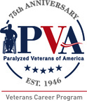 Paralyzed Veterans of America approaches 75th year, unveils anniversary logo and newly renamed Veterans Career Program