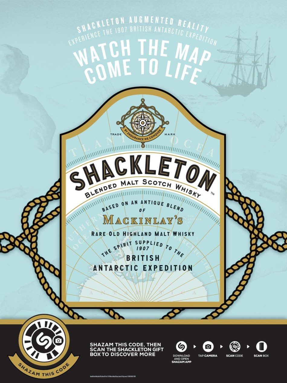(PRNewsfoto/Shackleton Whisky)